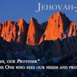 Jehovah-Jireh our provider