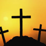 3 crosses on hill